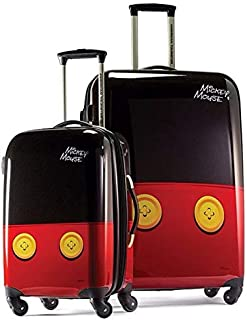 American Tourister Disney Hardside Checked Luggage with Spinner Wheels