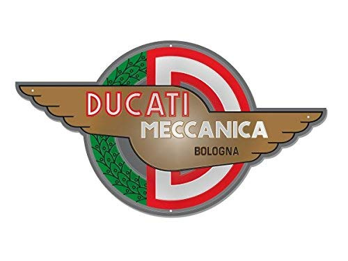 Ducati Meccanica Blechschild