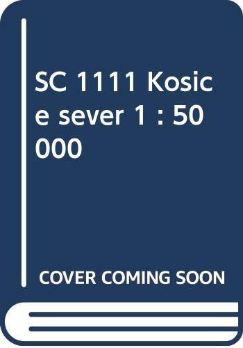 Košice - sever / Kaschau – Nord (Wander - Radkarte 1:50.000) (SHOCart Wander - Radkarte 1:50.000 Slowakei)