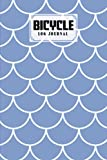 Bicycle Log Journal: Bicycling ride journal Mermaid Glitter Scales Cover, Record your rides and performances, Gift idea for off road biking cycling ... 120 Pages, Size 6' x 9' | by Dietrich Sauter