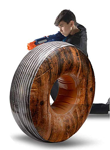 Bunkr Inflatable Cable Spool for Nerf, Lazer Gun and Blaster Battles