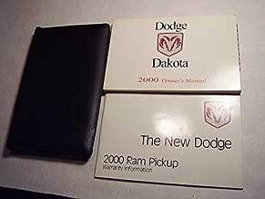 2000 Dodge Dakota Owners Manual