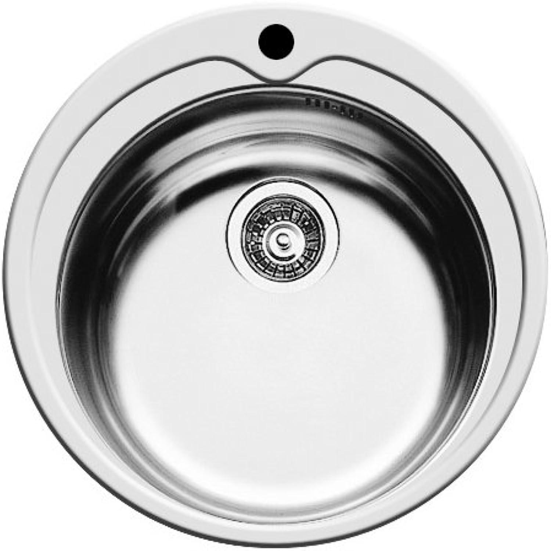 Pyramis Kitchen Sink Round Chrome 48.5?x 48.5?cm