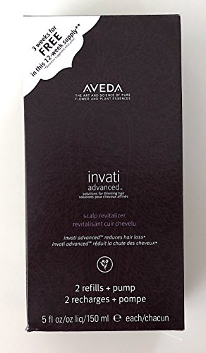 AVEDA Invati Advanced Scalp Revitalizer Duo Pack de 2 recharges 300 ml