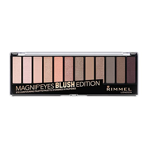 Rimmel London Magnifeyes Palette Blush Edition Paleta de Sombras Tono 2 - 14.2 g