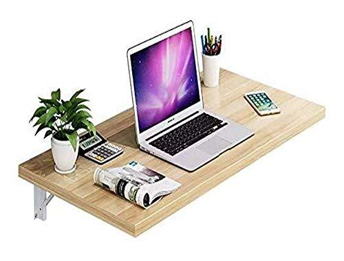 Mesas laterales Plataforma plegable soportes de múltiples funciones del ordenador portátil montado en la pared del estante de escritorio admite que ahorra espacio de bricolaje Workbench (Tamaño: 60 *
