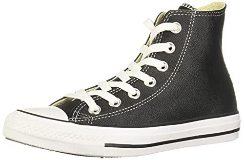 Converse Chuck Taylor All Star High Top Sneaker, Black, 8.5 Women/6.5...