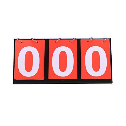 Sport Anzeigetafel, Tragbare Wasserdichte Tischplatte Punktzahl Spielstand Zähler für Basketball Tischtennis Training