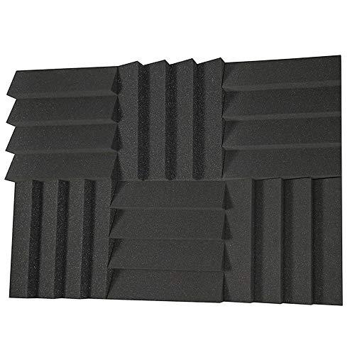 Acoustic Panels Studio Foam Sound Proof Panels Noise Dampening Foam Studio Music Equipment Acoustical Treatments Foam 6 Pcs-12''12''2''