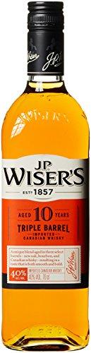 J.P.WISER'S 10 Jahre Triple Barrel Whisky (1x 0,7 l)
