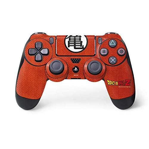 Skinit Decal Gaming Skin for PS4 Controller - Officially Licensed Dragon Ball Z Goku Shirt Design