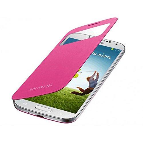 Samsung EF-CI950BPEGWW S View Cover, Copertura per Samsung Galaxy S4, Rosa (Pink)