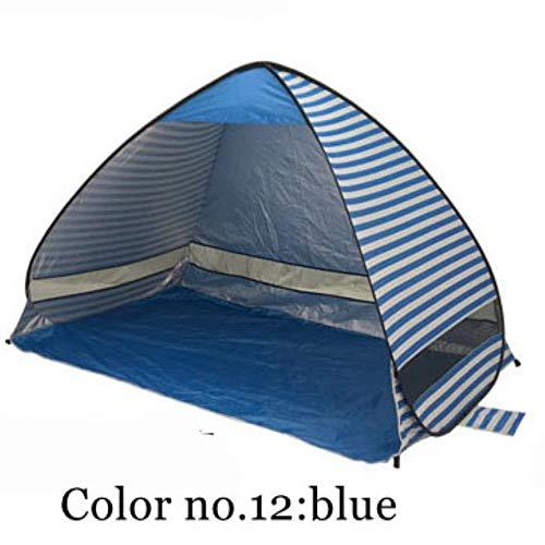 Tragbare Strandzelt Pop-Up Markise Bauen Camping Campingzelt, Farbe 12