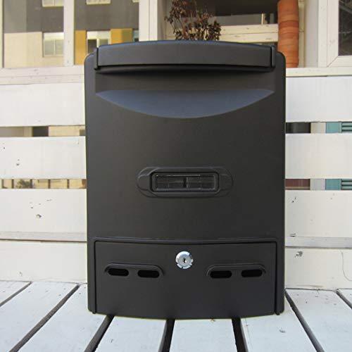 CKH Europäische Mode Outdoor Briefkasten Diebstahlschutz Briefkasten wasserdicht Wandmontage einfacher Briefkasten
