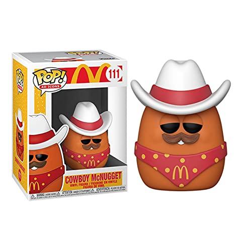 SDFH Pop Vinilo Figuras De Anime Mcdonalds Toy Dolls # 111 Cowboy Chicken Nuggets 10Cm Kawaii Q Versin Mueca Figura De Accin Juguetes Modelo En Caja Decoracin De La Habitacin Regalos para