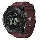 Liamostee Zeblaze Vibe 3 Bluetooth Smart Watch Sport all'Aria Aperta Orologio da Polso Regalo per Uomo Ross