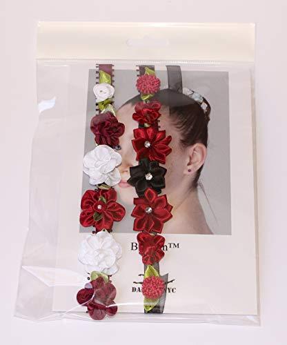 Ballet Bun Flower Wreath - BunFun - Set of Two
