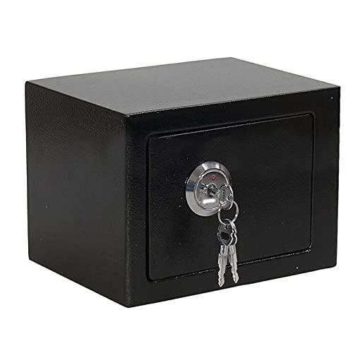 XinLuMing Muebles Seguros Caja Fuerte con Ranura de inserción Cerradura Doble Bicicleta (Color : Black)