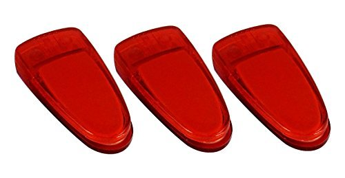 3 PK Compact Disc Clean Tool - Helps Restore CDs, DVDs, Games, Movies - Red.