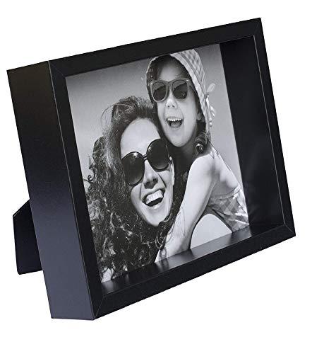 BD ART 20 x 25 cm Box Marco de Fotos, Negro