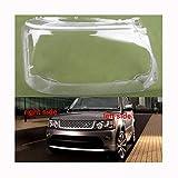 Cubierta transparente para faros delanteros izquierdo derecho para Land Rover Range Rover Sport Edition 2010-2013 cubierta transparente para faros delanteros (color: 2 piezas izquierda y derecha)