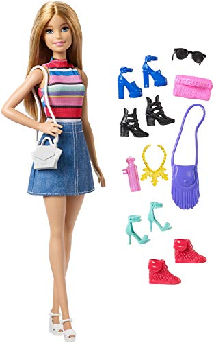 Barbie Doll with 11 Accessories