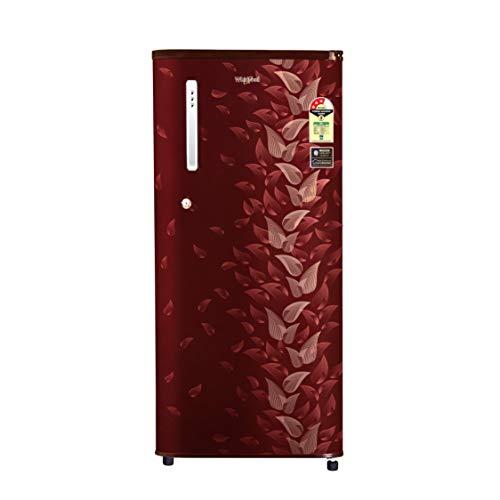 Whirlpool 190 L 3 Star Direct-Cool Single Door Refrigerator (WDE 205 CLS PLUS 3S, Wine Fiesta, Toughened Glass Shelves)