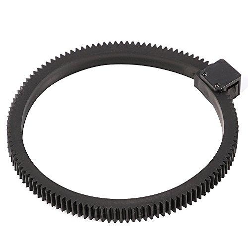 Ruili Verstellbar Follow Focus Gear Ring Belt für DSLR Objektive/HDSLR Follow Focus und Objektiv mit Durchmesser von 46-110mm