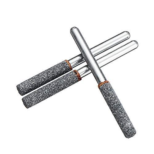 Giratoria Accesorios para herramientas de perforac 3pcs Sacapuntas Burr archivo de Piedra mini amoladora molienda Jefe de la motosierra con piedras engastadas de diamantes