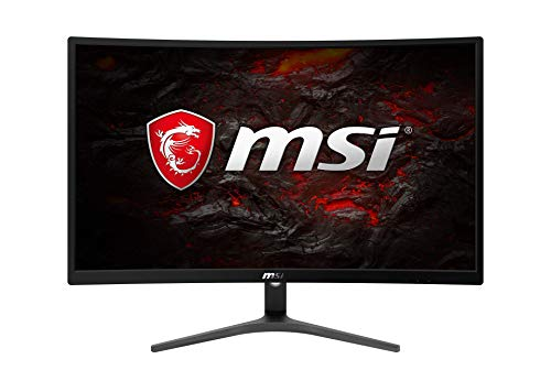 MSI Optix G241VC - Monitor Gaming Curvo 24' FullHD 75Hz (1920 x 1080, pantalla curva, 1ms respuesta, AMD Freesync) negro