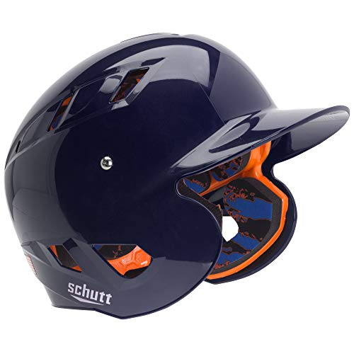 Schutt Sports AiR 5.6 Baseball Batter's Helmet, X-Large, Navy