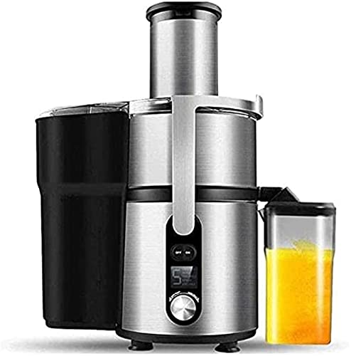 Multi Purpose Juicer, Juicer Machine with Big Wide Mouth, 5 Speed Centrifugal Juicer for Fruits and Vegs, Big Mouth Feed Chute, Easy To Clean,Stainless Steel Knife Net,Anti-drip ,Nutrient Extractor