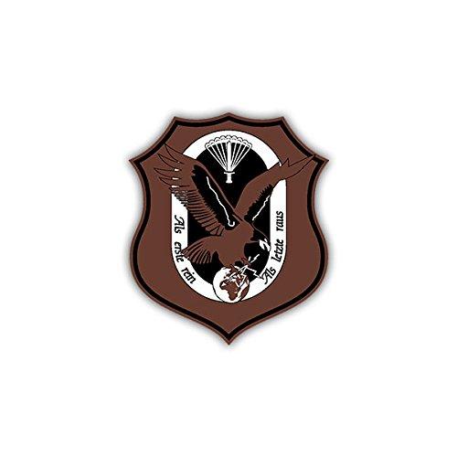 Stickers/sticker KSK Verrekijker Afstandsbediening wapen badge 6x7cm A1204