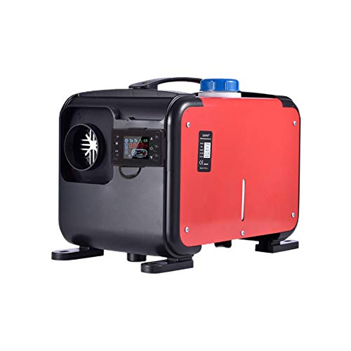 Dieselheizung, Luftheizung LCD-Monitor Diesel-Autoheizung Diesel-Luftheizung mit automatischer Fernbedienung Thermostat Camping Parkheizung für PKW LKWs Bootsbus und Fahrzeug