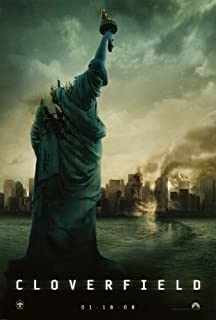 cloverfield 2008 movie poster