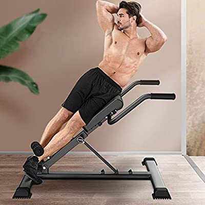Adjustable Roman Chair 330 Lb Heavy Duty Back 25022021122134