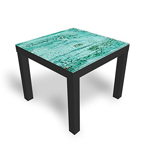 Ikea Table basse en verre avec plateau en verre de décoration