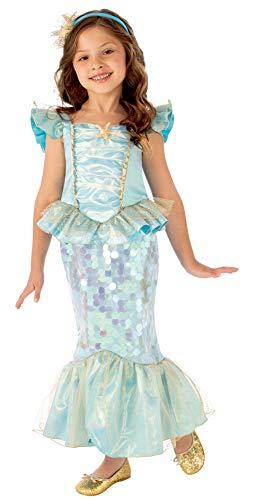 Rubies Disfraz Sirena, Color Azul, L (702098-L)