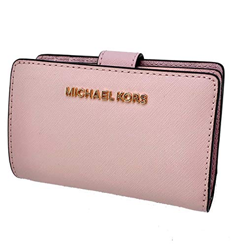Michael Kors Jet Set Travel Bifold Zip Coin Wallet - Blossom