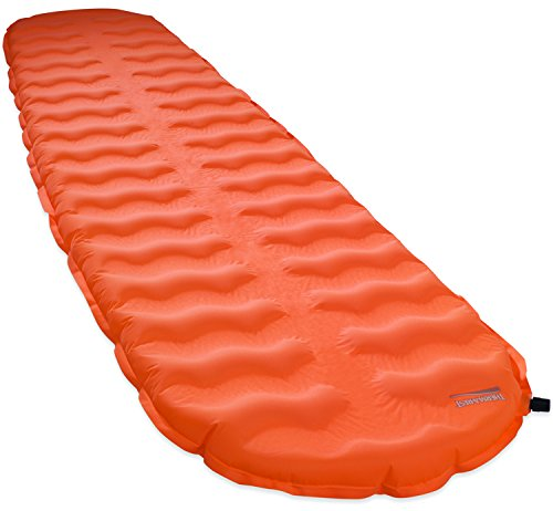 Therm-a-Rest EvoLite Lightweight Self-Inflating Foam Backpacking Mattress, Regular - 20 x 72 Inches