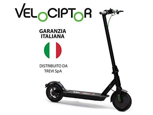 Monopattino Elettrico VELOCIPTOR ES 85W -  Scooter Pieghevole con Potente Motore da 350w, Velocità Massima fino a 25...