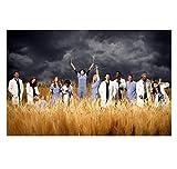 DrCor Grey's Anatomy TV-Show Poster Leinwand Malerei