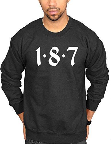 Ulterior Clothing 187 Logo Sweatshirt
