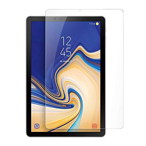 Foluu Compatible Samsung Galaxy Tab S4 Screen Protector Glass [1 Pack], Tempered Glass Screen Protector for Samsung Galaxy Tab S4 10.5 SM-T830/T835 2018 0.33mm 9H Hardness Anti-Scratch Flim Bubble