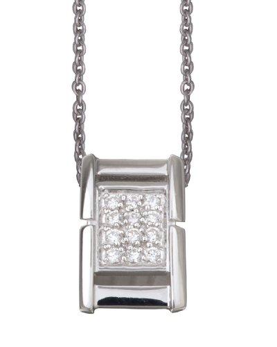 Orphelia dicono le donne s-Catenina con pendente in argento Sterling 925 con zirconi 4559-ZH