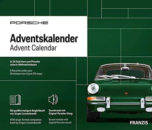 FRANZIS Porsche 911 Adventskalender 2020 | In 24 Schritten zum Porsche unterm Weihnachtsbaum |Neue überarbeitete Edition 2020 | Ab 14 Jahren