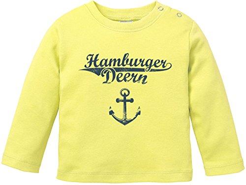 EZYshirt® Hamburger Jung & Deern Vol. 2 Baby T-Shirt Longsleeve Bio Baumwolle