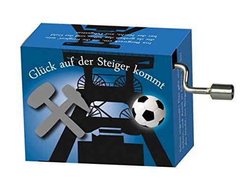 """Fridolin Spieluhr / Music Box """"Steigerlied"""", blau"""
