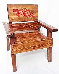 sea turtle gifts ~ handmade chair