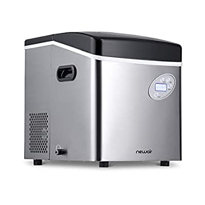 NewAir Portable Ice Maker AI-215SS 50 lb